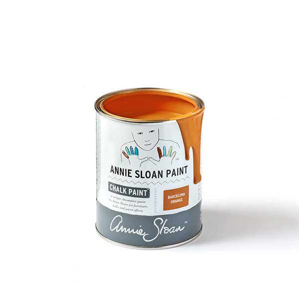 Chalk Paint TM Annie Sloan Barcelona Orange