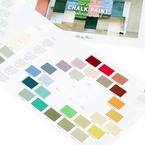 Chalk Paint TM Annie Sloan Colour Chart