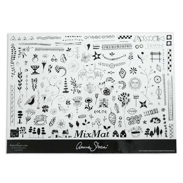 Chalk Paint Annie Sloan Mix Mat